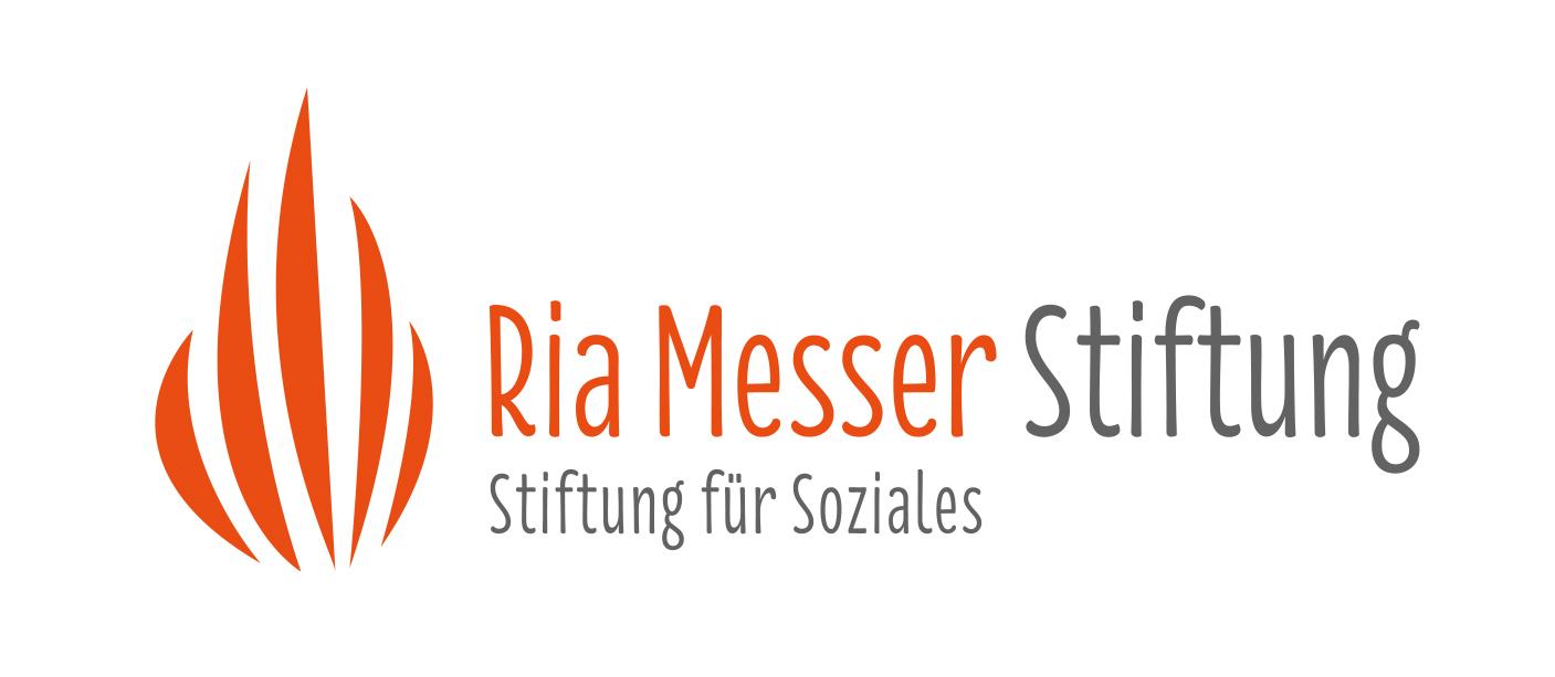 Logo Ria Messer Stiftung