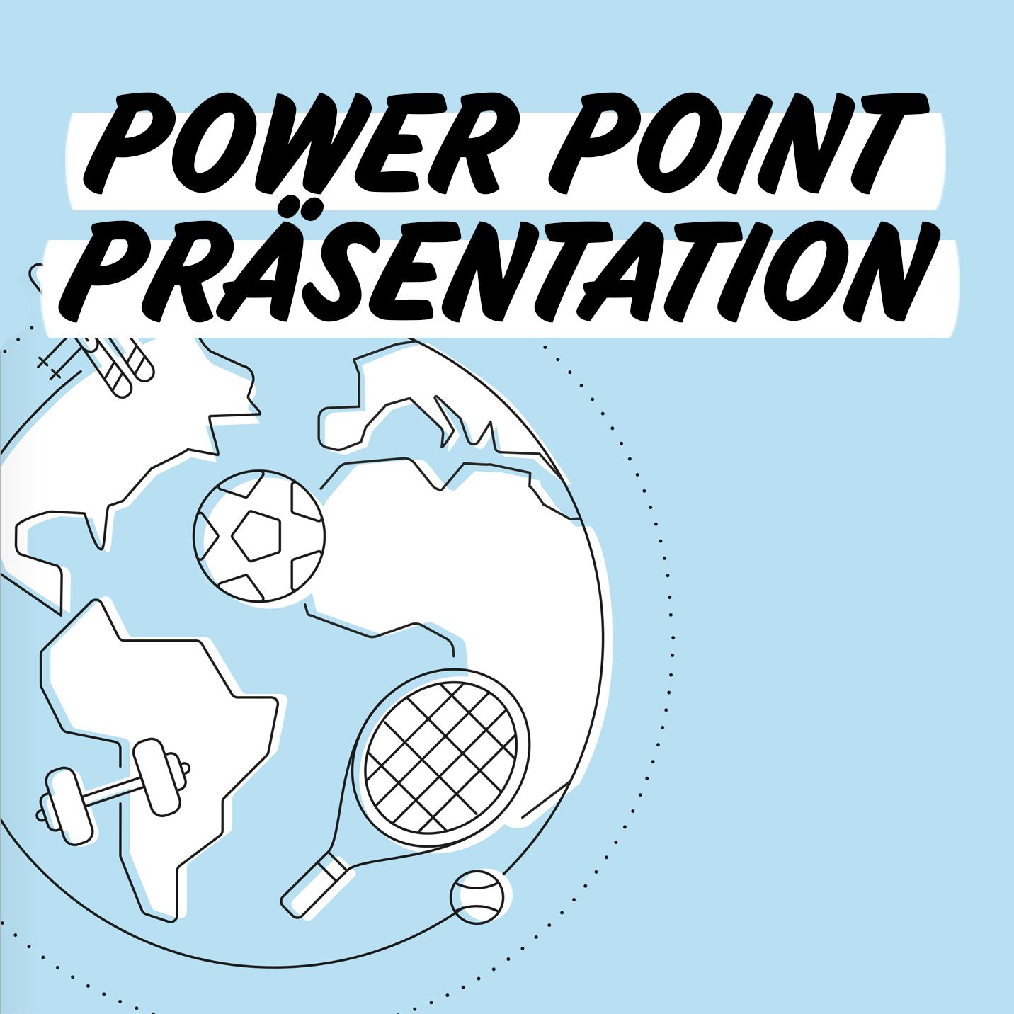 Button PowerPointPräsentation Klimasport V1