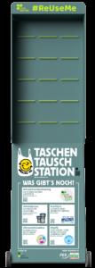 Taschen-Tausch-Stationen Design